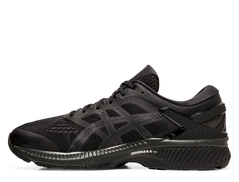 buty asics gel-kayano 26 black/black
