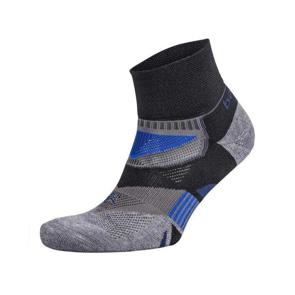 balega enduro v-tech quarter socks szaro-czarne