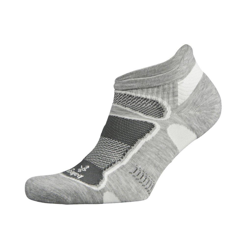balega ultralight grey white
