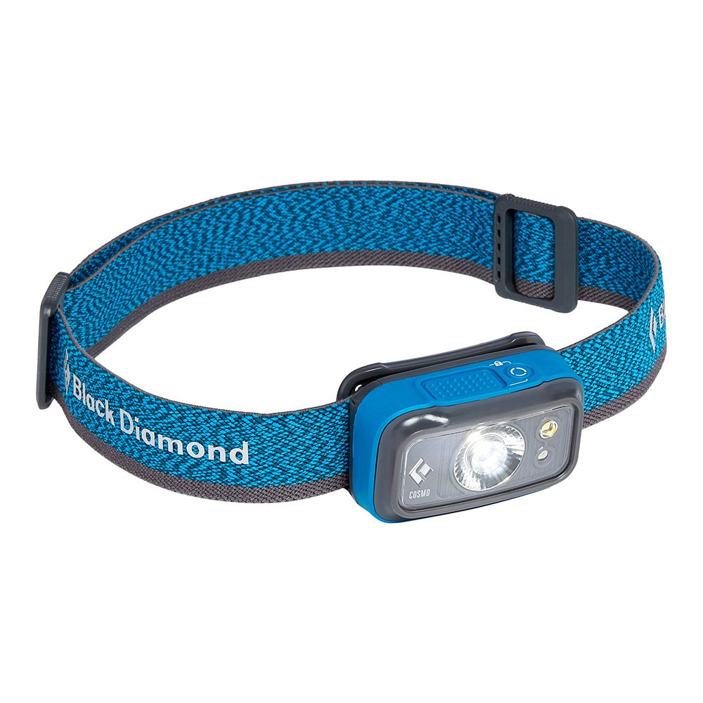 black diamond cosmo 250 headlamp niebieska