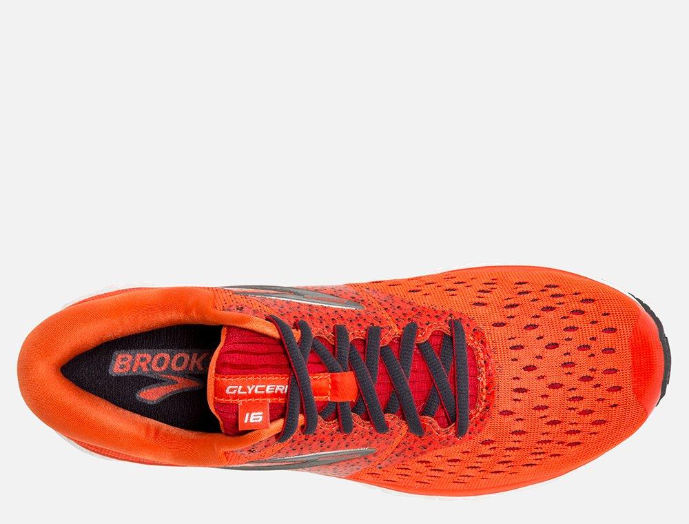 brooks glycerin 16 m szaro-pomarańczowe
