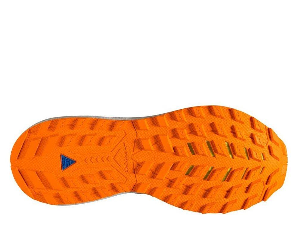brooks cascadia 14 m niebiesko-pomarańczowe