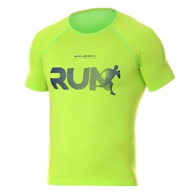 brubeck running air pro neon green