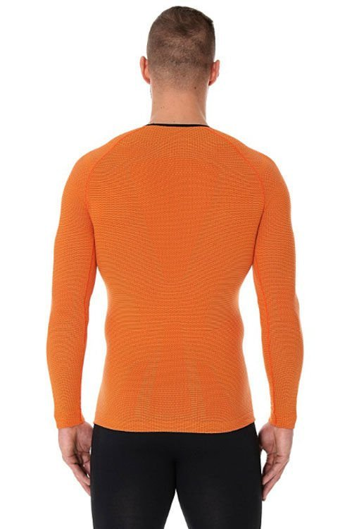 brubeck run pro longsleeve orange