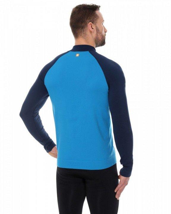 brubeck bluza męska athletic blue navy