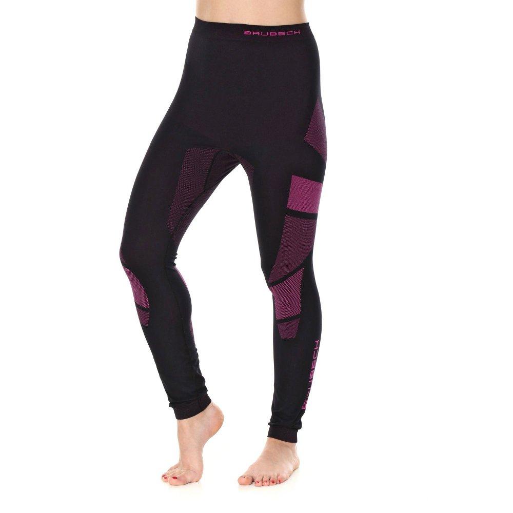 brubeck spodnie dry czarny/amarant