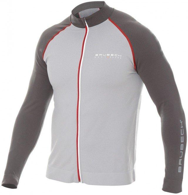 brubeck bluza męska athletic grey