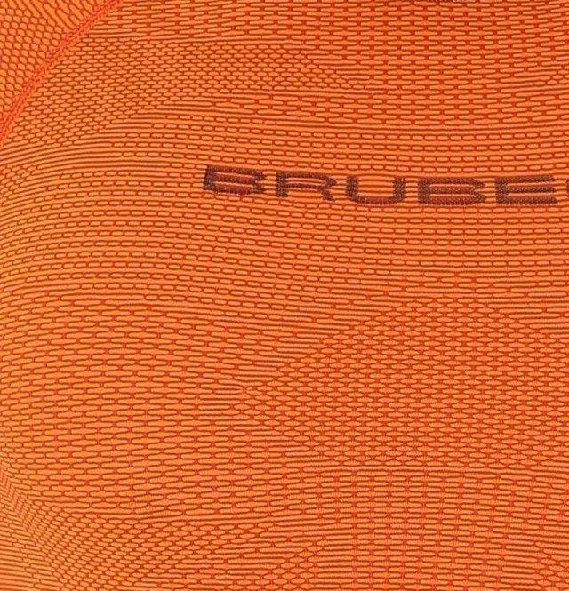 brubeck 3d run short sleeve orange