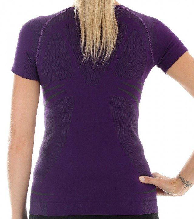 brubeck koszulka swift purpurowy