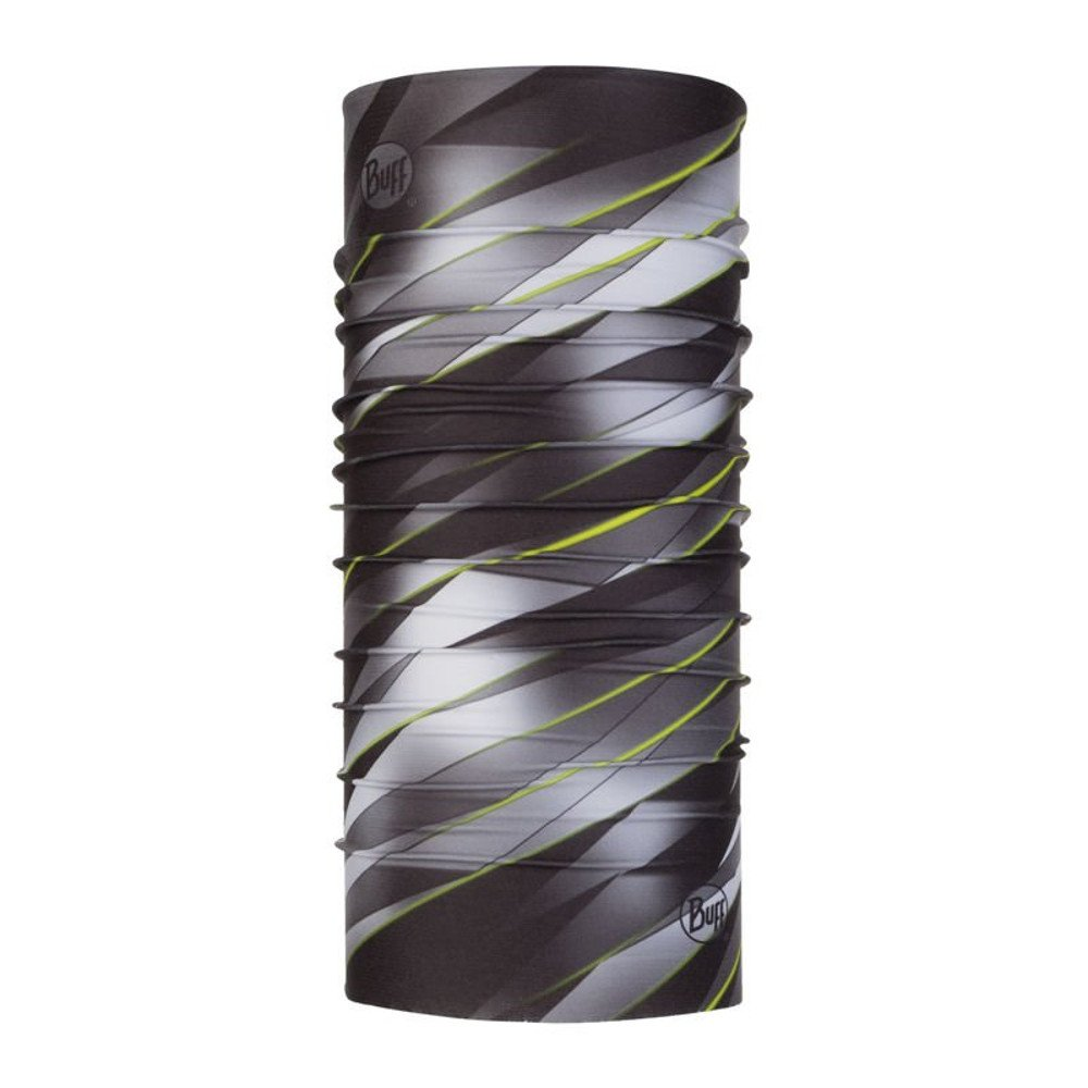 buff focus grey coolnet uv+ neckwear zielono-szara