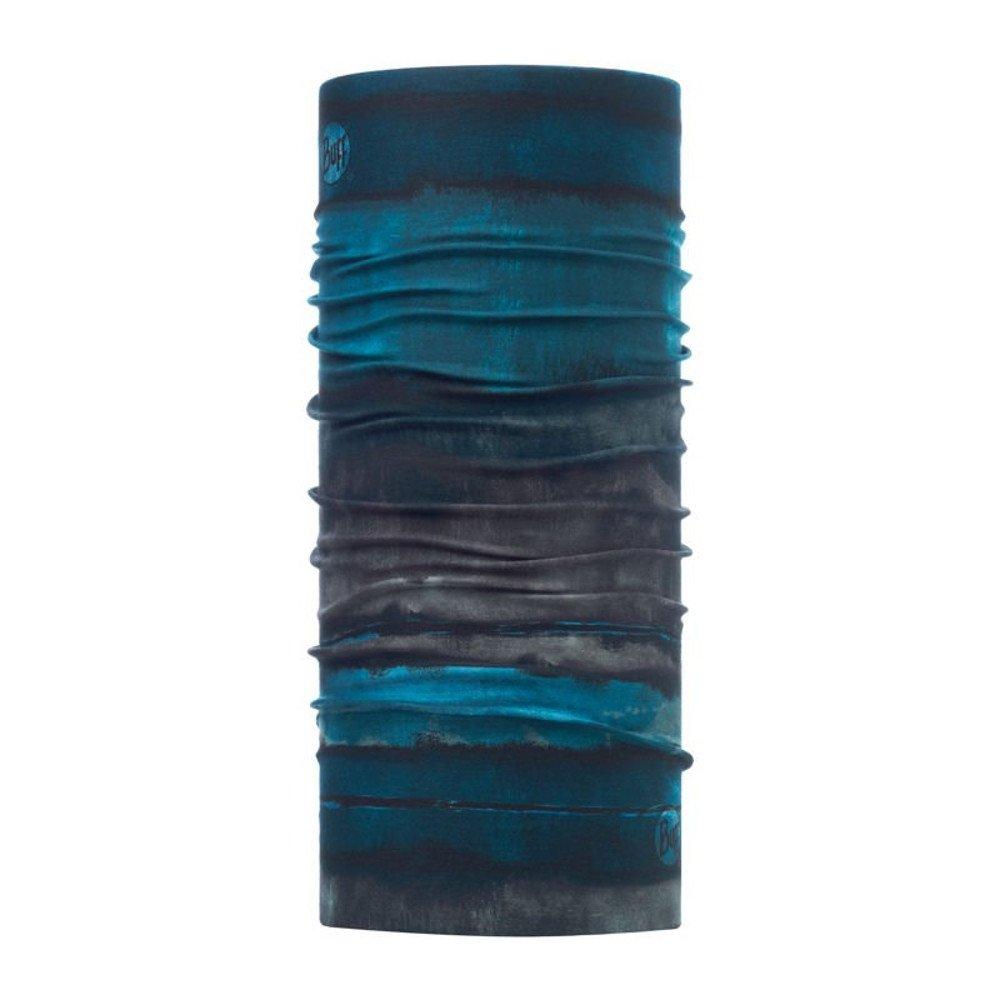 buff rotkar deep teal coolnet uv+ neckwear szaro-turkusowa