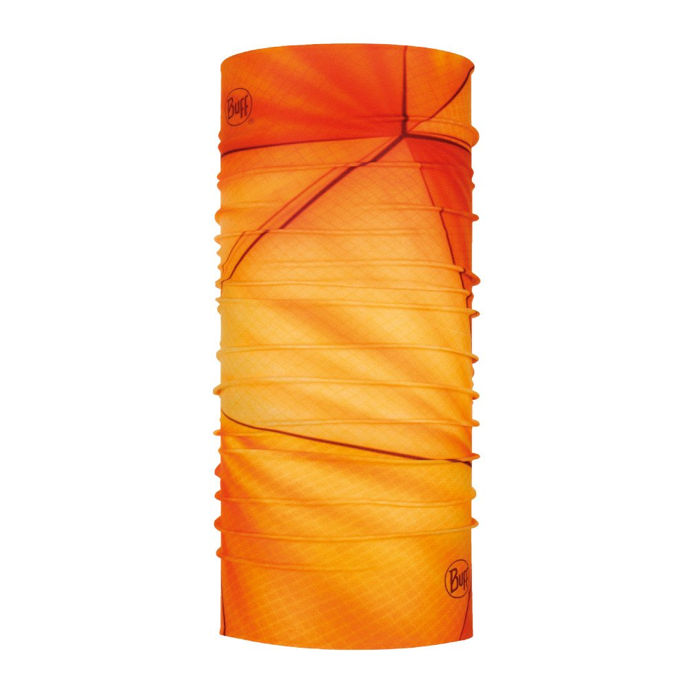 buff coolnet uv+ neckwear tubular vivid dusty orange pomarańczowa