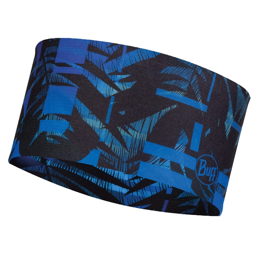 buff coolnet uv+ headband itap blue niebieska