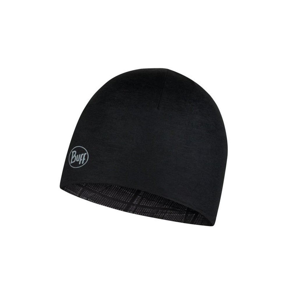 buff microfiber reversible hat embers black