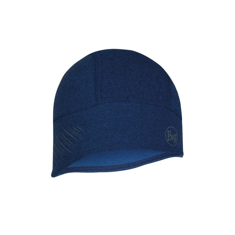 buff tech fleece hat r-night blue granatowy