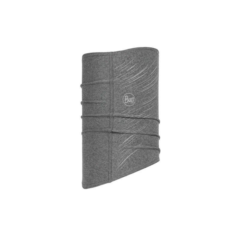 buff tech fleece neckwarmer r-grey u szara