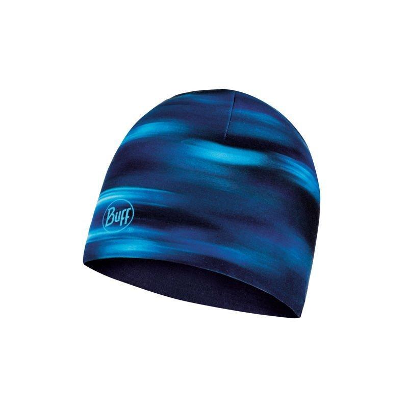 buff microfiber reversible hat shading blue granatowy