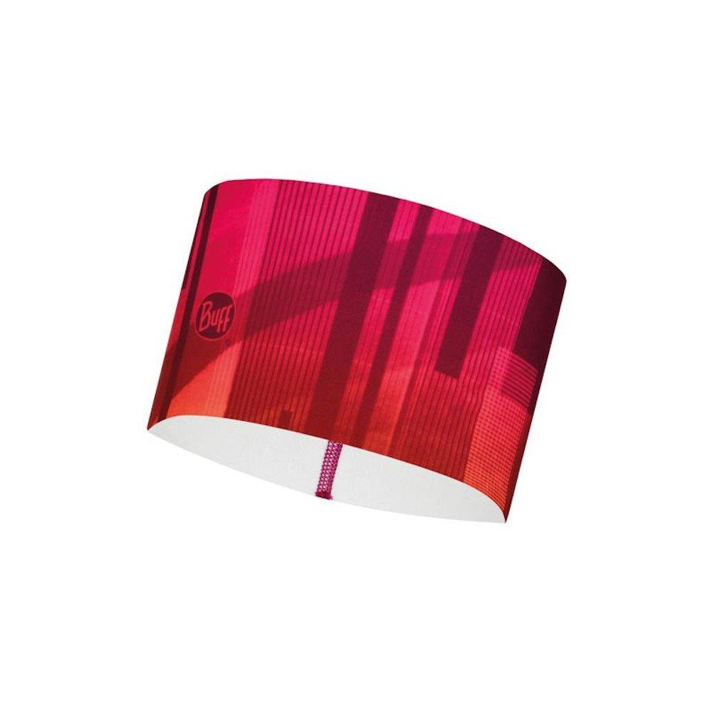buff tech fleece headband pink róŻowa