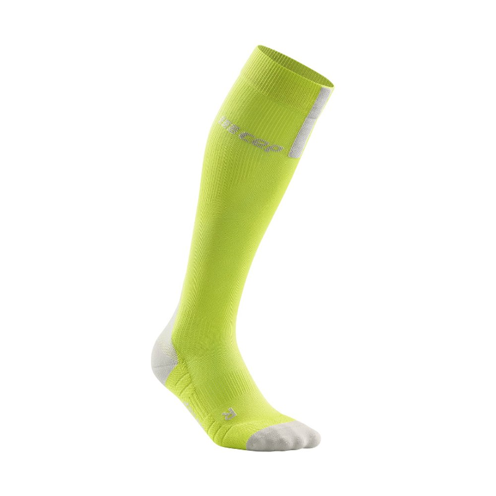 cep run compression socks 3.0 m szaro-zielone