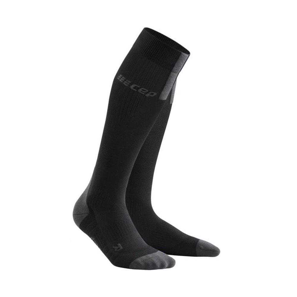 cep run compression socks 3.0 w szaro-czarne