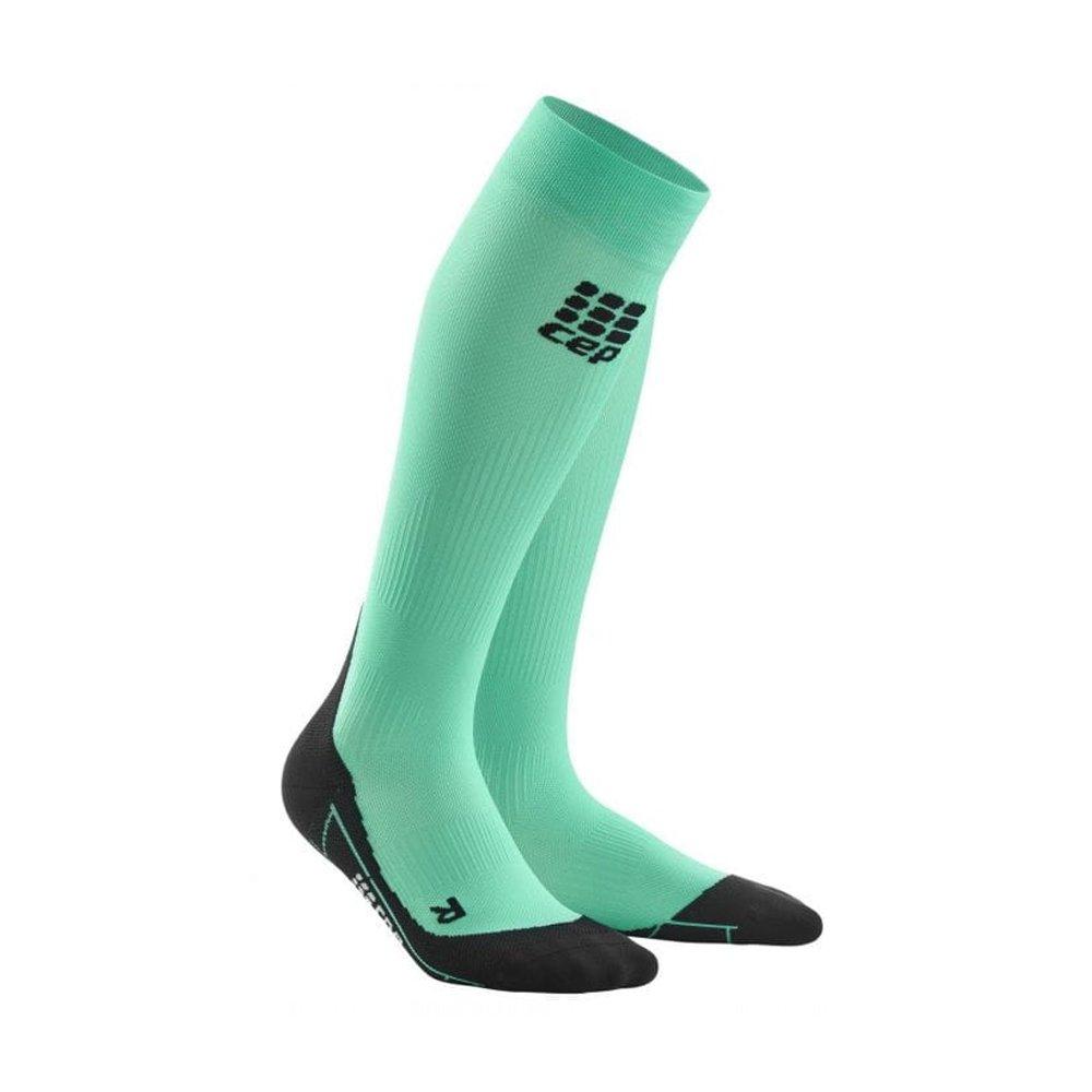 cep compression socks 2.0 w czarno-zielone
