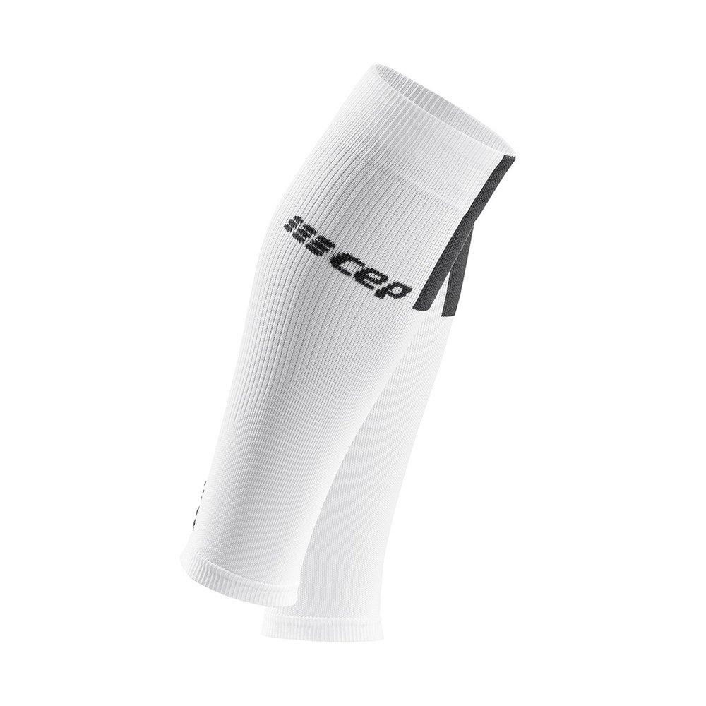 cep calf sleeves 3.0 w szaro-białe