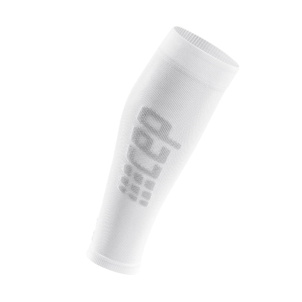 cep ultralight calf sleeves m szaro-białe