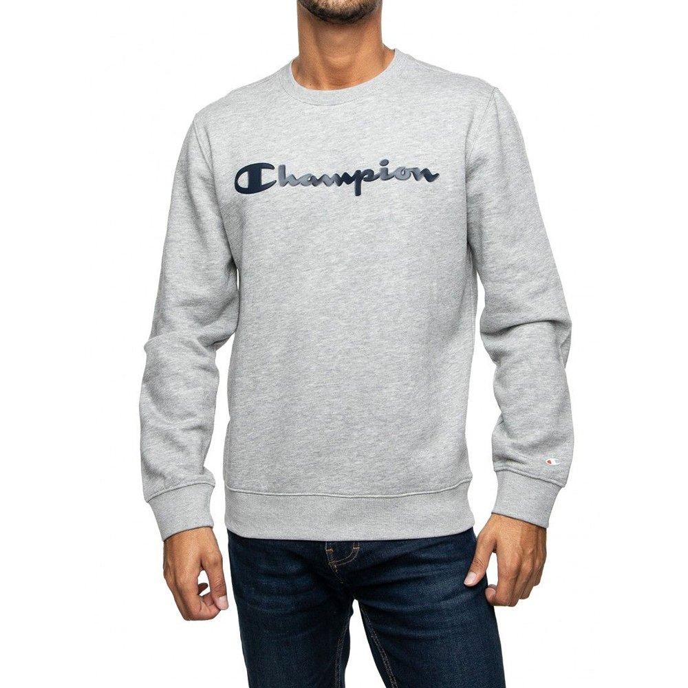 champion crewneck sweatshirt big logo