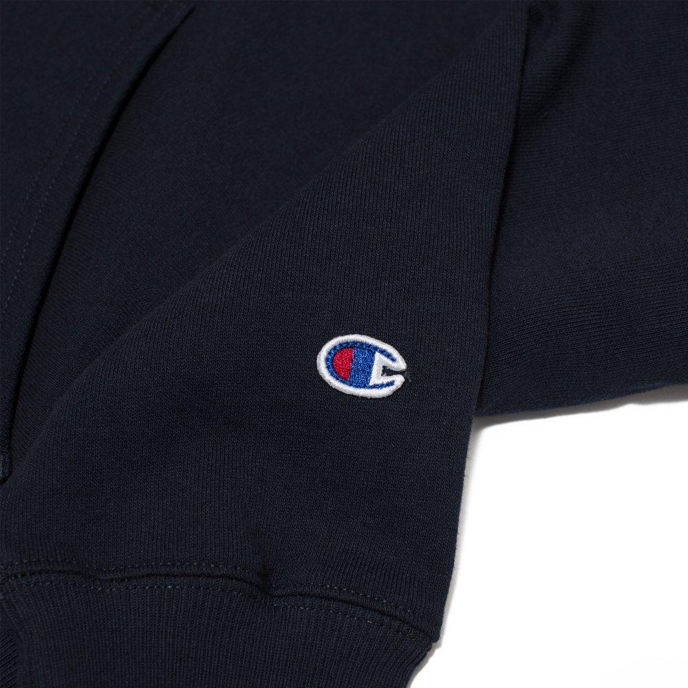 champion small script logo reverse weave hoodie (212967-bs501)