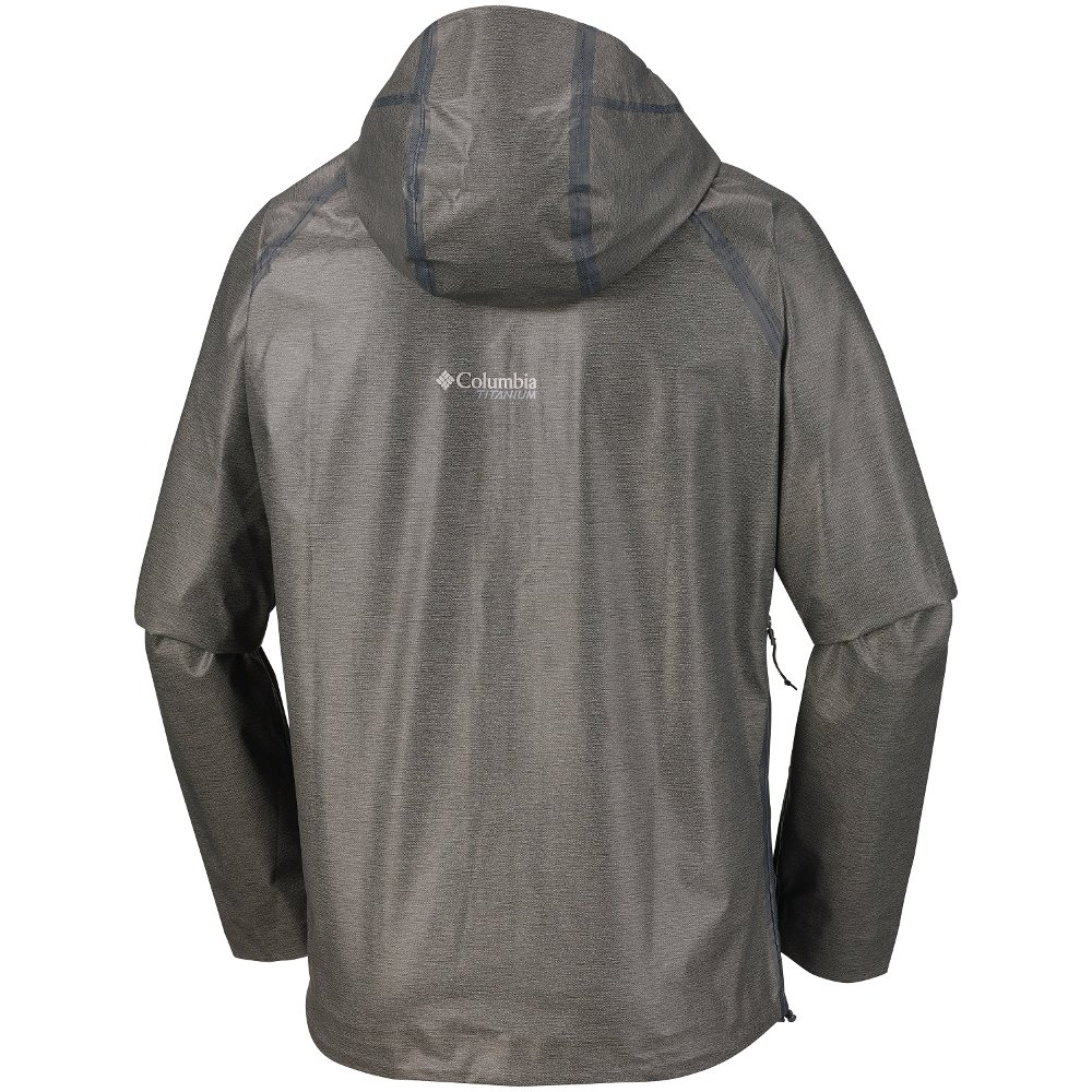 kurtka columbia outdry ex™ reign™ jacket szara