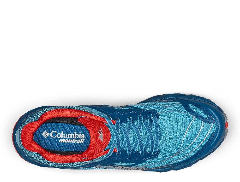 columbia caldorado iii m czerwono-niebieskie