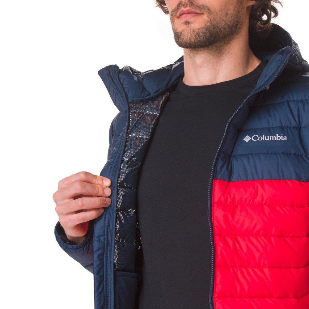 columbia powder lite™ hooded jacket m (wo1151-616)