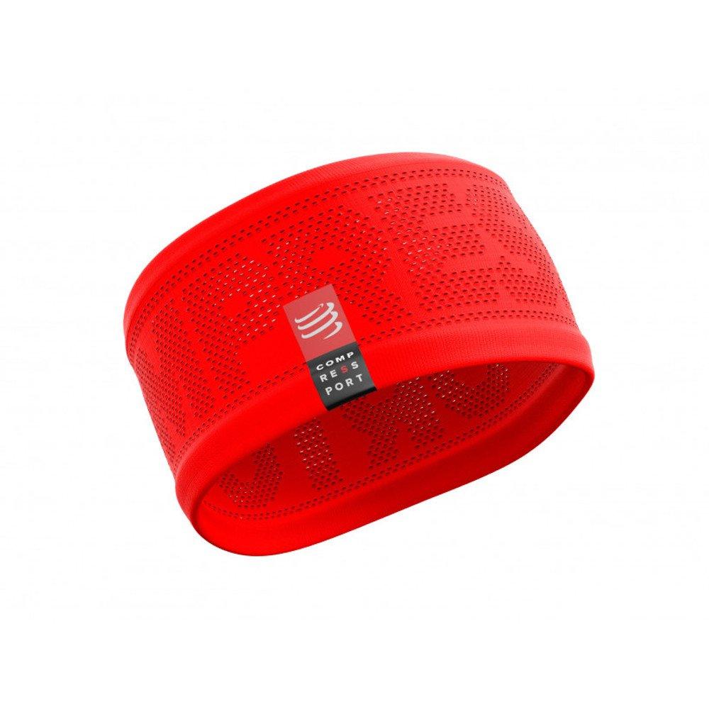 opaska compressport headband v2 on/off red
