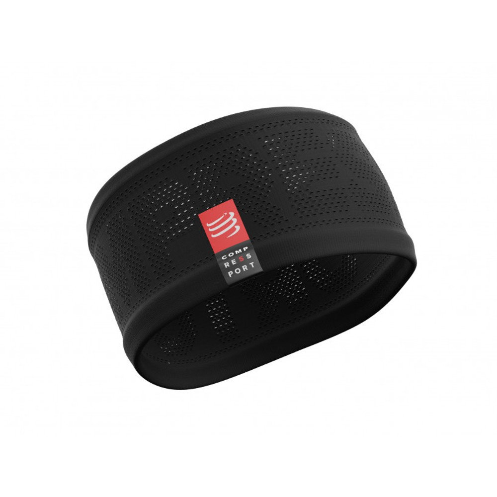 opaska compressport headband v2 on/off black