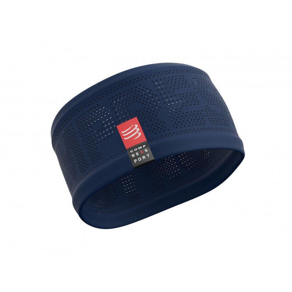 opaska compressport headband v2 on/off blue