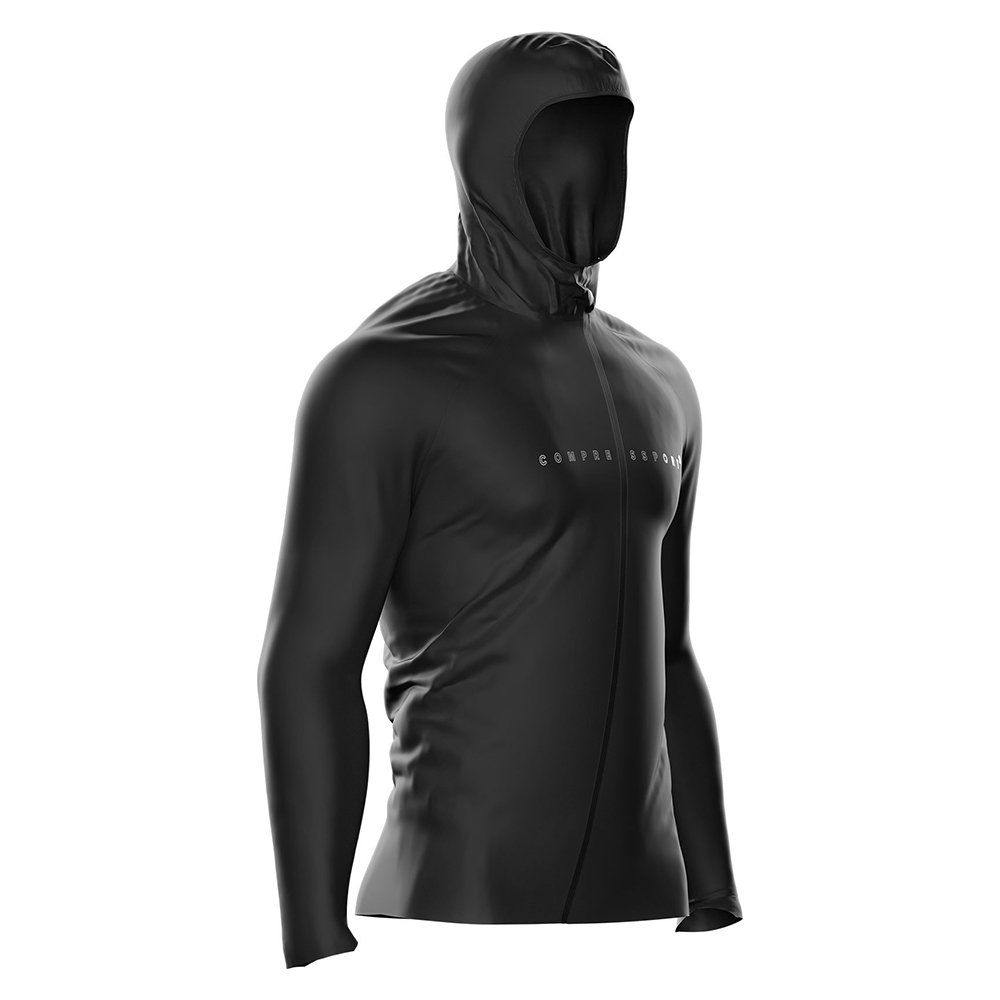compressport thunderstorm 10/10 jacket black