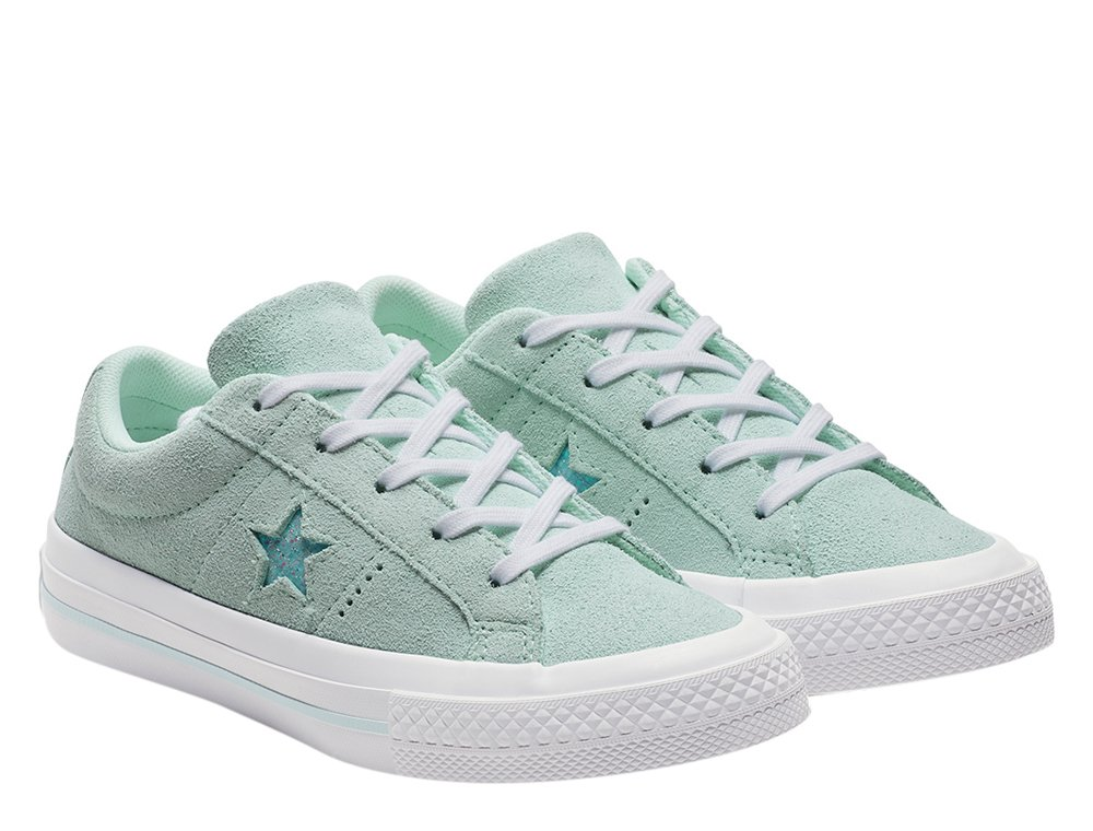 converse one star ox damskie zielone (c663590)