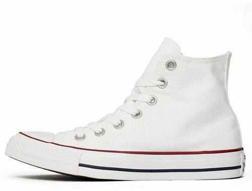 converse chuck taylor all star hi white w