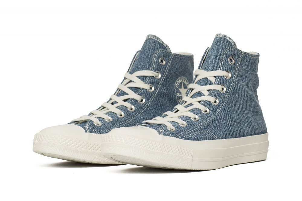 converse renew denim chuck 70 high top (165648c)
