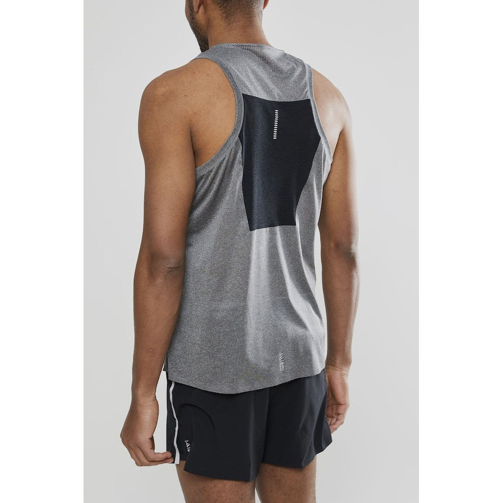 craft nanoweight singlet m szara