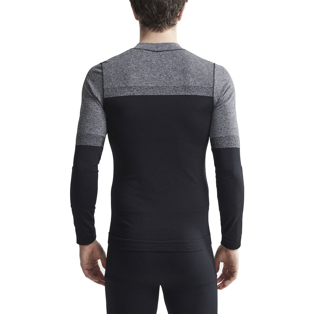 craft warm intensity longsleeve m czarno-szary