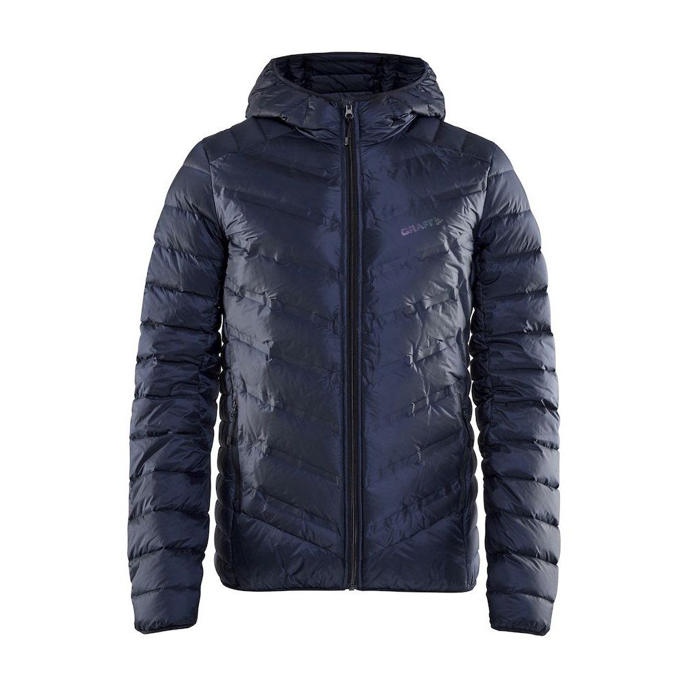 craft light down jacket m granatowa