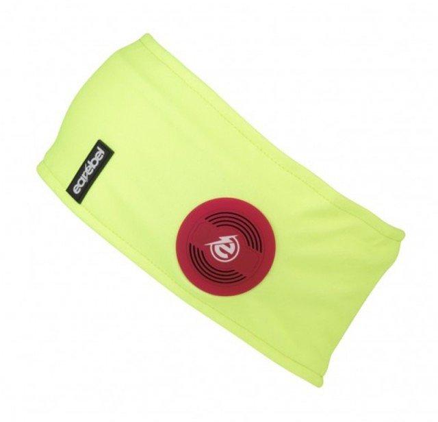 earebel bluetooth preformance headband yellow
