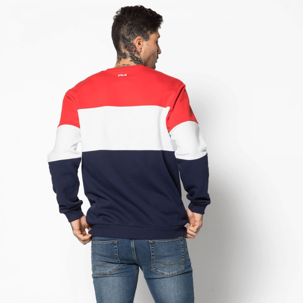 fila straight blocked crew (681255-g06)