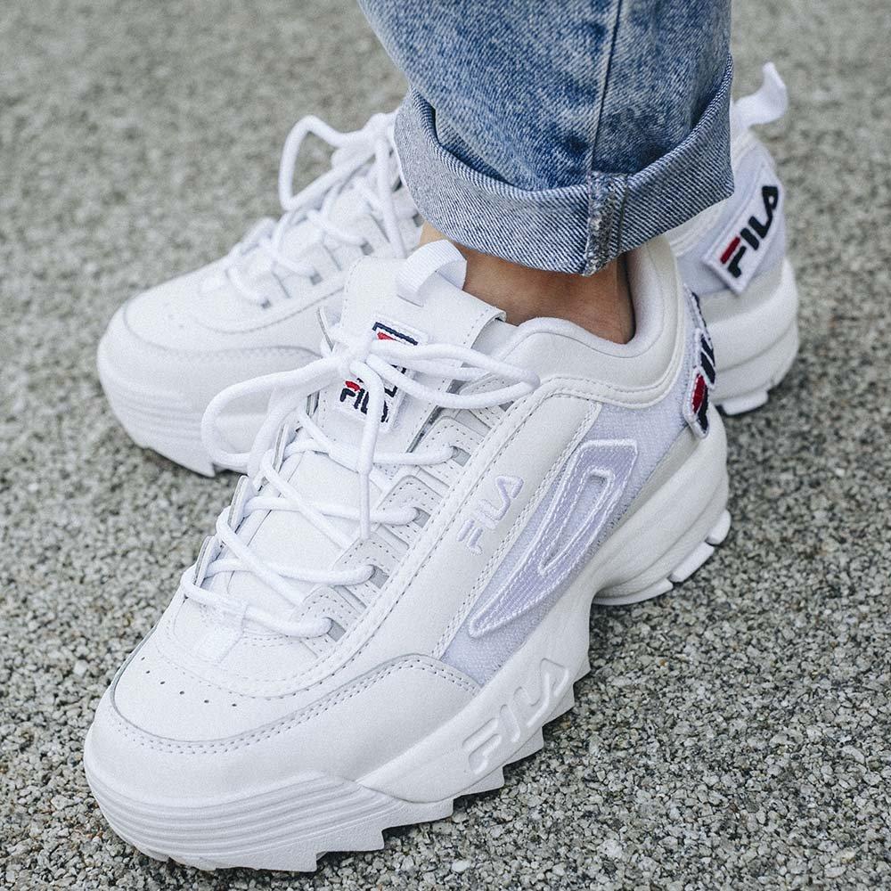 Fila Białe buty sportowe Disruptor 3