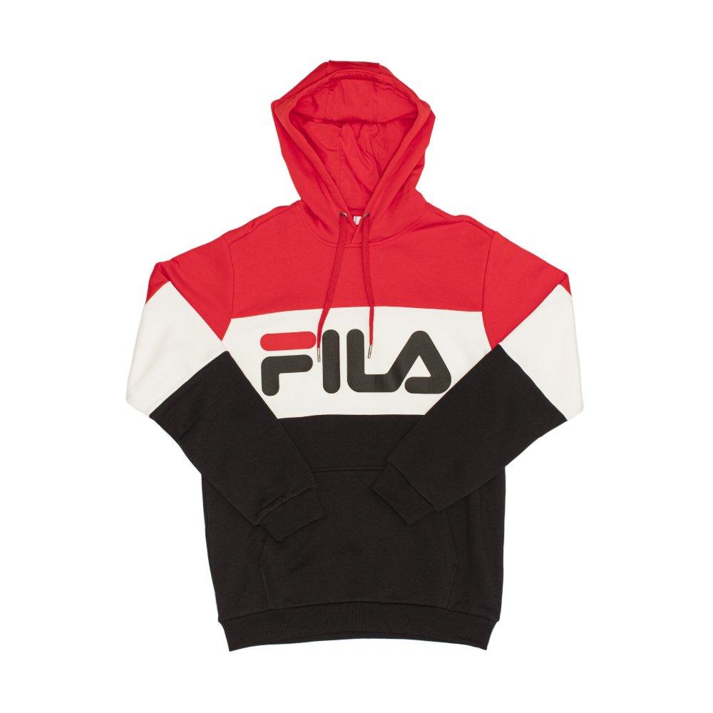 Bluza męska Fila Night Blocked 687001 A089 | CZARNY