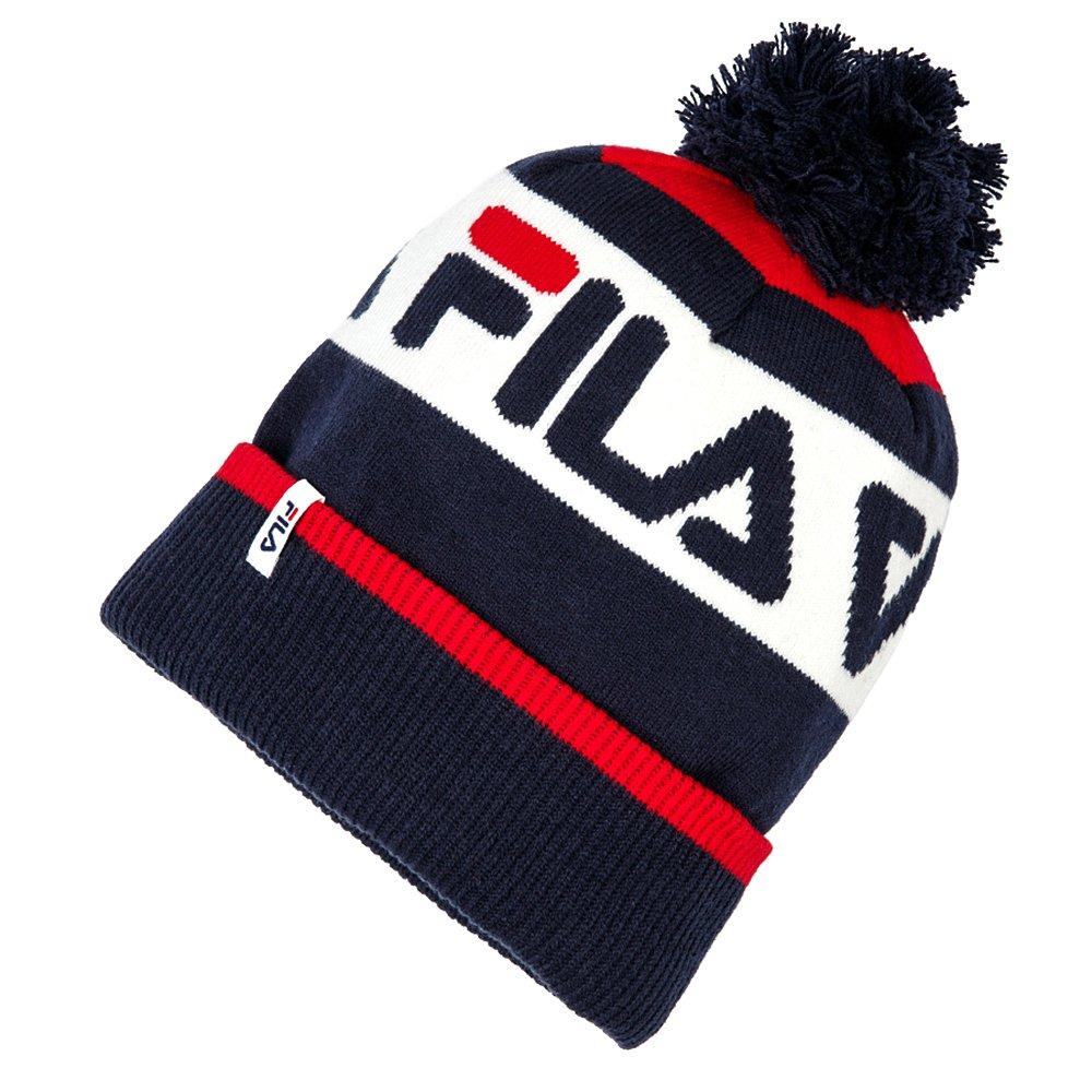 fila intarsia knitted beanie (686036-g06)