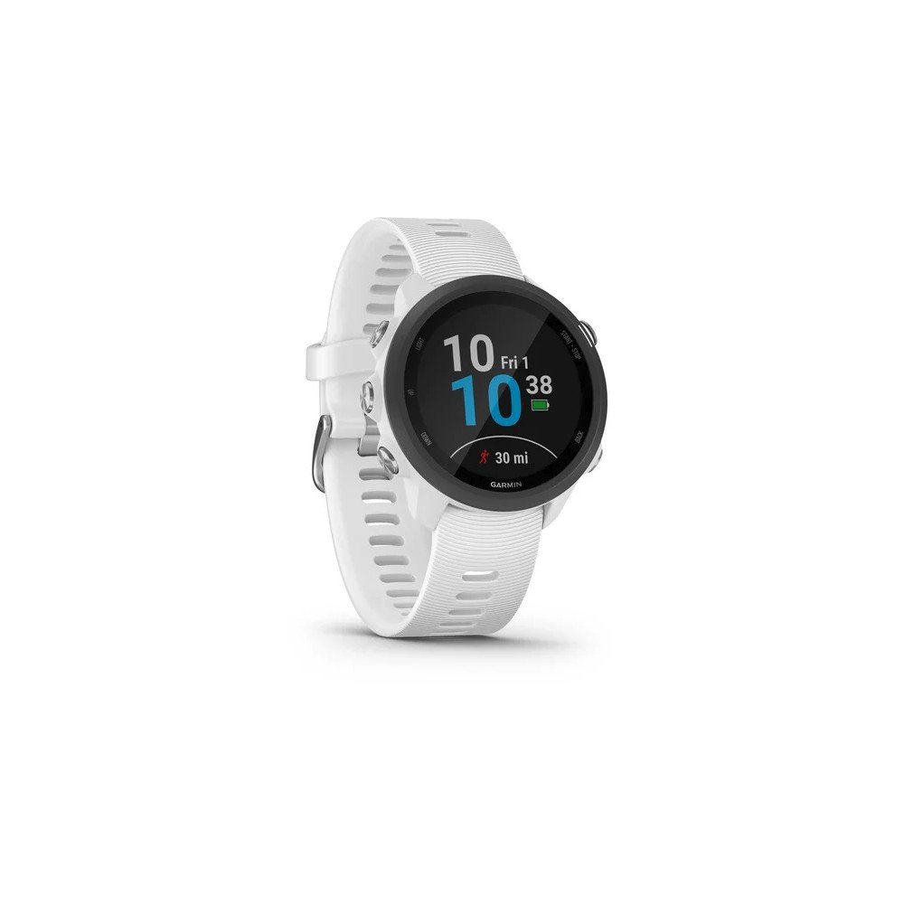 zegarek garmin forerunner 245 music, gps, wi-fi, biaŁy