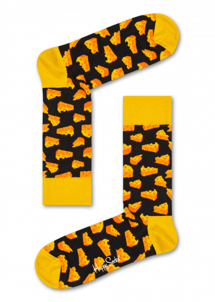 happy socks cheese sock (ces01-9300)