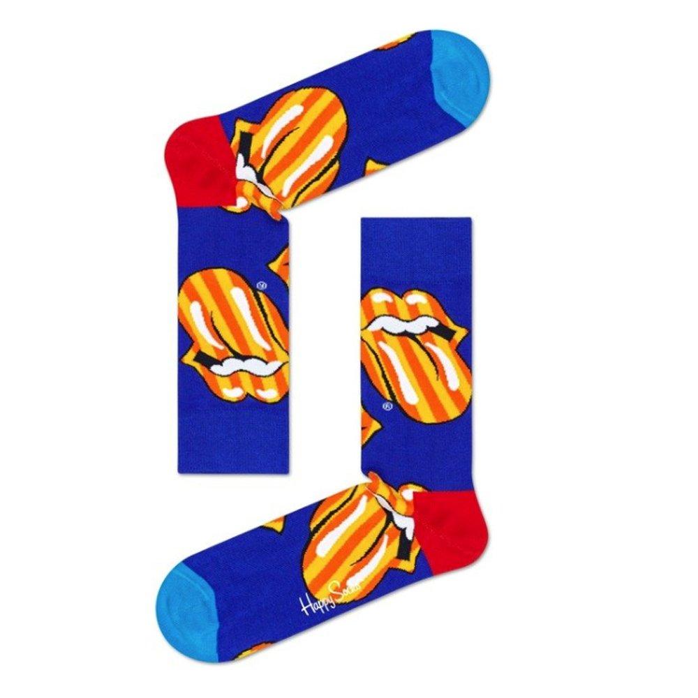 skarpety happy socks 3pak x rolling stones (xrls08-6500)